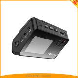 """2 do """" registrador duplo do carro DVR da câmera da tela LCD com o VGA de HD 1080P 720p, 170° Câmera larga do traço da lente do ângulo"""