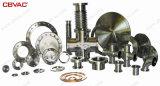 Borde en blanco de ISO-F para las válvulas de vacío