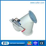 El equipo de molino de alimentación de la válvula de descargador de tres vías