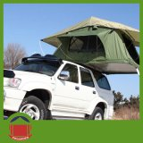 Dunkelgrünes Color Roof Top Tent mit Annex