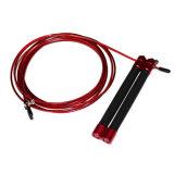 赤、銀製の適性装置のCrossfitの速度の省略ロープの縄跳び