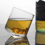 無鉛ワイン、アルコール飲料、ウィスキー、ウォッカのための機械によって吹かれるクリスタルグラスのコップ