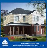 Haltbares und Luxuxstahlgebäude-Landhaus-Haus