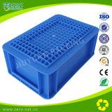 青いカラー軽量注入プラスチックEUの転換ボックス