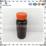 frasco plástico vazio de empacotamento do animal de estimação do frasco do comprimido 150ml