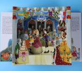 libros ingleses del cuento de hadas de Hacer estallar-UPS de los animales 3D