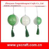 Il natale poco costoso del globo di natale della decorazione di natale (ZY11S366-D-Z-X) orna le sfere