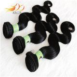Pacotes Burmese do cabelo do preço de fábrica do cabelo de Remy da onda do corpo