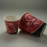 Taza de papel del café disponible de la buena calidad para no reutilizable