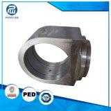 El trabajar a máquina de encargo del CNC de la forja de la precisión de la alta calidad SS304 316L del fabricante