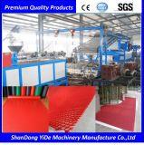 Extrusion en plastique de tapis et de couvre-tapis de salle de bains de PVC faisant la machine