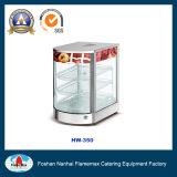 Escaparate de la visualización del alimento de RoHS del CE Hw-350 con la calefacción en seco
