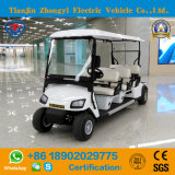 Zhongyi 도로 배터리 전원을 사용하는 고전적인 셔틀 도매를 위한 전기 관광 골프 차 떨어져 6개의 시트