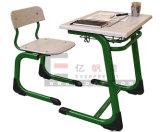 Sf-01f 학교 가구 나무로 되는 학교 학생 책상 및 의자