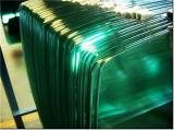 Meubles de 6 mm de verre avec bord poli et de Corner