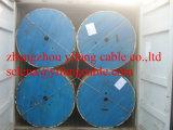 600/1000V 4 cabo distribuidor de corrente de cobre blindado do núcleo 35sqmm