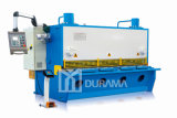 Máquina hidráulica qualificada da tesoura com o controlador de Estun E21