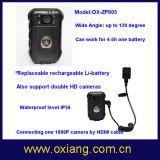 Wasserdichte Polizei-Karosserie getragene Kamera der Qualitäts-zusätzliche Batterie-2600amh