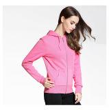 女性の体操の平野のスエットシャツの女性はHoodiesを卸し売りする