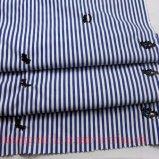 Bordar a tela tingida fio para o vestuário de Chidlren da saia da camisa de vestido