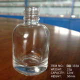 bottiglia di vetro UV rotonda del polacco di chiodo del gel 12ml