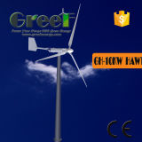 Prix horizontal de turbine de vent de l'axe 10kw à vendre
