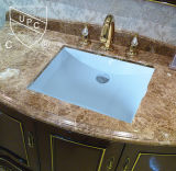 Ванная комната Ceramic Undermount Sink Hot Sale фабрики с Cupc (SN017)
