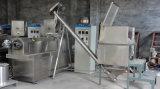 Luftgestoßene Imbiss-Nahrung mit Erdnussbutter-füllender Extruder-Maschine