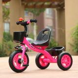 Stahlrahmen-Kind-Dreirad der Qualitäts-2017 für Kinder mit EVA/Air Reifen