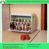 Новый кабинет деревянной обуви/полки шкаф для хранения органайзер для монтажа в стойку