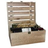 Классический дизайн изящные портативные индивидуальные вино в салоне в разных дерева
