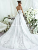 Мантия LD11536 венчания шнурка мантии шарика платья венчания кристаллов Bridal
