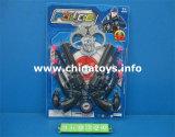 Дешевые полиции игрушек пластмассы подарка промотирования установили (960323)