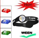 2016 pulseira de venda quente pulseiras de borracha de silicone