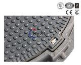 Coperchio di botola antifurto del burrone SMC di vendita diretta della fonderia con il blocco per grafici
