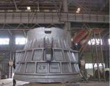 ステンレス鋼の鍋が付いている合金の鋳造鋼鉄スラグ鍋