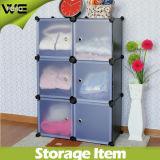 6 مكعب وحدات التخزين المنظم خزانة خزانة الكتب مع العديد من الألوان المتاحة