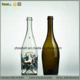 In profondità elaborare le bottiglie di vetro con gelo, stampa, spruzzatura di colore