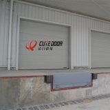 Промышленных алюминиевых изолированный закаленное полный вид верхней двери гаража