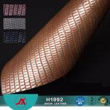 Nuovo cuoio nella metà di Maket orientale, cuoio del PVC 2017 della pelle di serpente