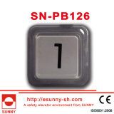 PlastikElevator Push Button für Otis (SN-PB126)