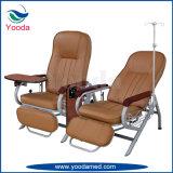 Nuevo tipo silla médica de la transfusión del hospital