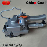 Xqd-25 압축 공기를 넣은 애완 동물 수동 벨트 강철 견장을 다는 기계