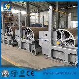 Papier d'emballage a ridé la machine de fabrication de papier de roulis enorme avec la réutilisation de papier de rebut