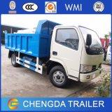 Caminhão de descarga pequeno do Tipper do descarregador de Dongfeng 5ton para a venda