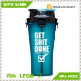 2 in 1 pacchetto gemellare BPA liberano la bottiglia doppia di plastica dell'agitatore