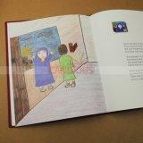 Impression de livre pour enfant d'impression de livre de livre À couverture dure