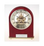 Kit di scheletro di legno dell'orologio dell'orologio K8005 dello scrittorio di nuovo disegno di alta qualità per l'insieme del regalo