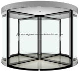 水晶自動回転ドアのための10、12mmの緩和されたガラスかガラスのドア