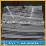 Marmi di pietra di legno Polished naturali nero/bianchi per la pavimentazione/controsoffitto/la pavimentazione/parete